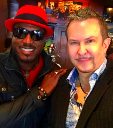 Elan Trotman and Gabriel at Spaghettini
